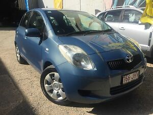 2006 Toyota Yaris 5 Hatchback Milton Brisbane North West Preview