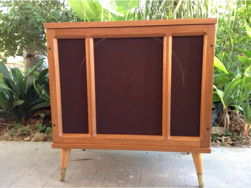 Mid Century Cabinet Gyrophonic External Speaker - Local Pick Up
