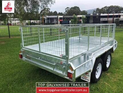 10x5 TANDEM HEAVY DUTY HOT DIP GALVANISED TRAILER, ELECTRIC BRAKE Mitcham Whitehorse Area Preview