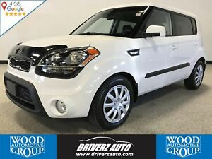 2012 Kia Soul 1.6L CLEAN CARFAX, HEATED SEATS, USB