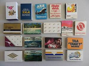 AVIATION RELATED MATCHBOX MATCHBOOKS Alberton Port Adelaide Area Preview