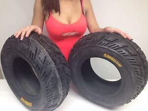 TWO-NEW-CST-AMBUSH-SPORT-ATV-FRONT-TIRES-2-21-7-10-21X7-10
