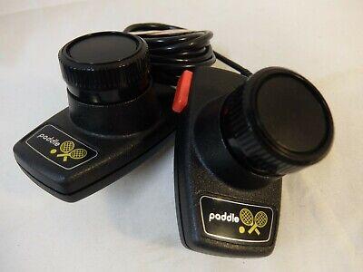 Atari 2600 Paddles Controller Pair