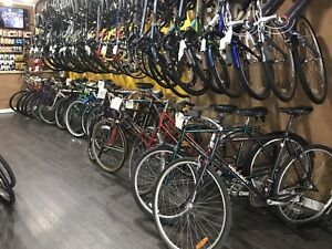 USED BIKES ON SALE! $100 + Peugeot Norco Concorde Miele Raleigh