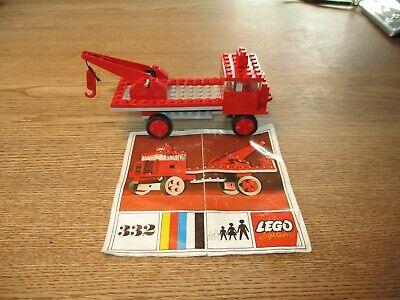 LEGO DENMARK-VINTAGE SET NO. 332 - TOW TRUCK -1970's.