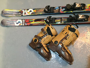 Ensemble ski alpin Twin-tip