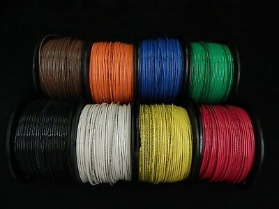 14 Gauge Stranded Wire - 14 GAUGE THHN WIRE STRANDED PICK 4 COLORS 25 FT EACH THWN 600V CABLE AWG