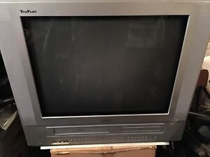 RCA TV with DVD VCR