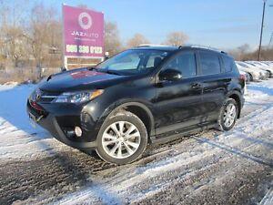 2014 Toyota RAV4 LIMITED LOADED LEATHER NAVIGATION/REAR CAMERA