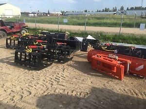 "SALE Brand new 78"" HD grapple buckets"