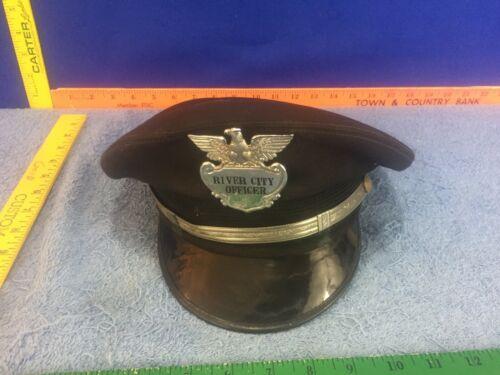 Antique Hat River City Officer