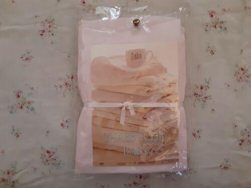 Rachel Ashwell SHABBY CHIC BABY Pink Crib Sheet ~ New