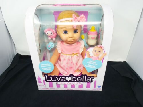 Luvabella 6028851 TRUE FIRST EDITION Blonde Doll in Box SEALED!