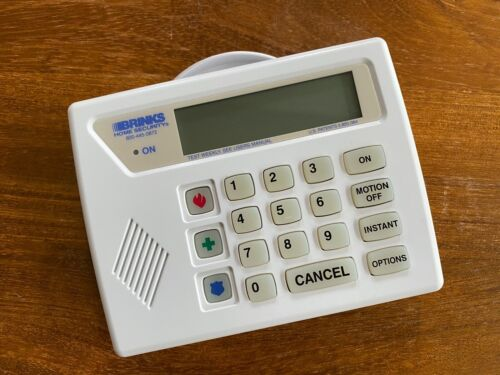 USED ~ Brinks Business Security Alarm LED Keypad (VERY CLEAN) - Free Shipping
