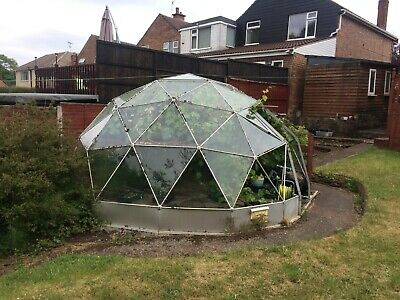SOLAR DOME GREENHOUSE USED