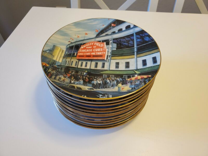 (12) Take Me Out To The Ball Game Collectors Plates By Delphi 1993 & 1994