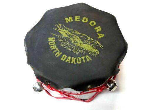 Vintage Medora N.D Souvenir Musical Tom Tom Drum Theodore Roosevelt Natl. Park*