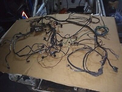 Mercedes w123 200E Front Wiring Harness Loom Fuse Box, Dash, Engine, Carburettor