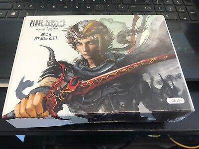 Final Fantasy Trading Card Game OPUS 6 VI Prerelease Kit Sealed