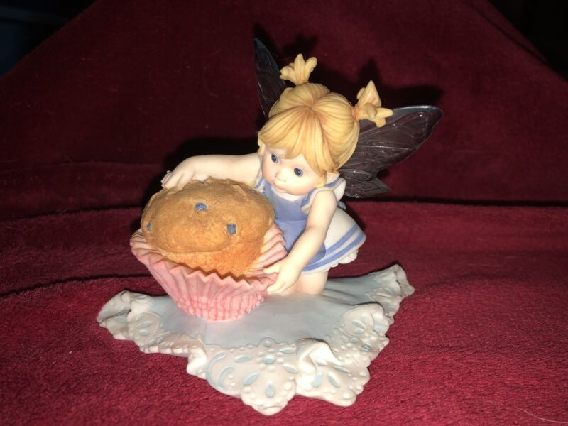 "My Little Kitchen Fairies ""BLUEBERRY MUFFIN FAIRIE"" 2007"
