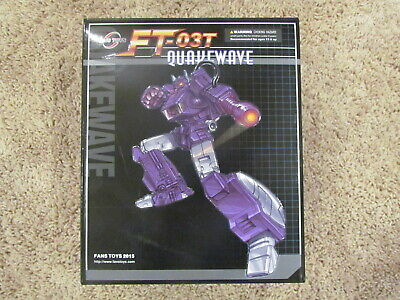 2015 Fanstoys Fans Toys Quakewave Masterpiece Transformers Shockwave FT-03T