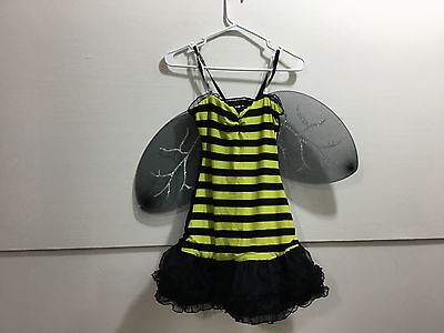 Ladies size small bee costume with wings