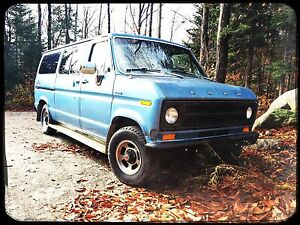1976 Ford Econoline Chateau V8