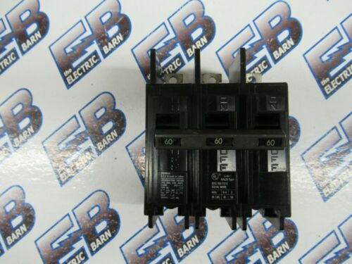 Siemens ITE BQ3B060, 60 Amp, 240 Volt, 3 Pole, Circuit Breaker -NEW