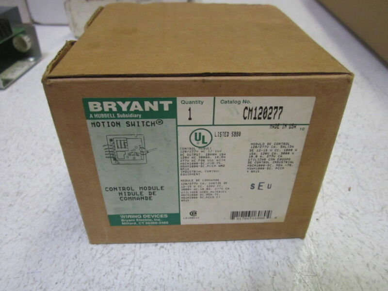 BRYANT CM120277 MOTION SWITCH *NEW IN BOX*