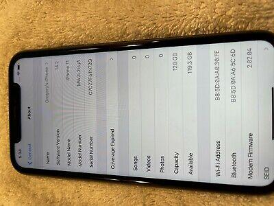 Apple iPhone 11 - 128GB - Black (Unlocked) A2111 (CDMA + GSM)(Formally T-Mobile)