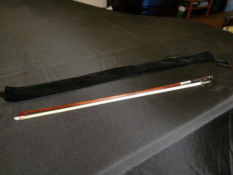 Pernambuco Violin Bow Made By JF Lee Workshop 1/2 Size