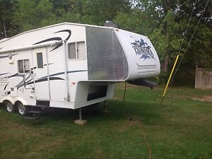 24 foot bunkhouse fifth wheel