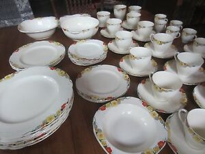 ALFRED MEAKIN ROYAL MARIGOLD 'RAYMOND' 61 piece dinner set Ulladulla Shoalhaven Area Preview