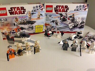 Lego Star Wars 8084 & 8083 Battle Pack Bundle