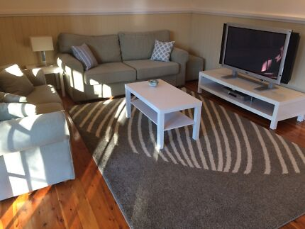 SOLD   Fantastic Furniture Lounges x 2. 200 if sold this weekend  Imported Buffalo Leather   Sofas
