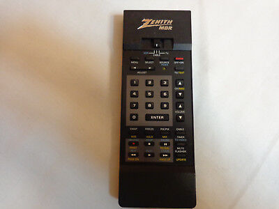 Zenith MBR 124-156 Original OEM Remote Tested TV VCR Cable