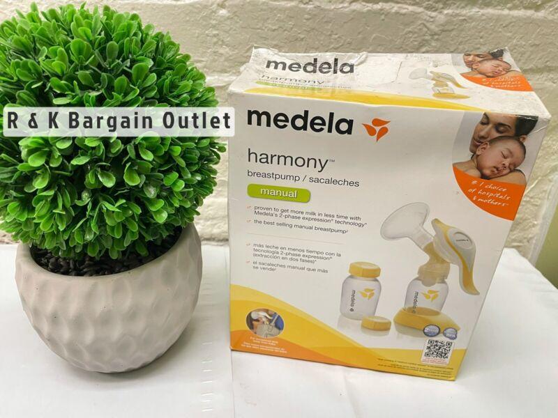 Medela Harmony Manual Breastpump Breast Pump #67186 Opened Damaged Box New
