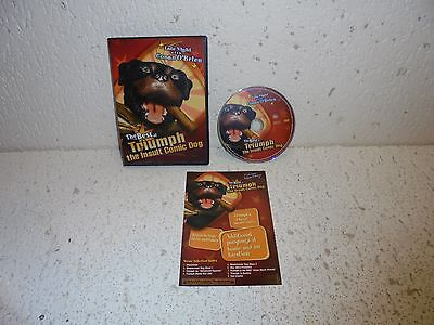 Late Night With Conan O'Brien Best of Triumph The Insult Comedy Dog DVD
