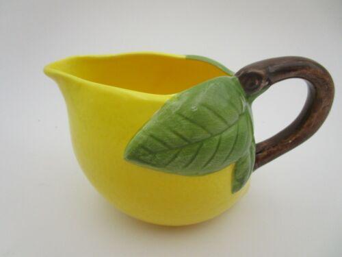 Small Lemonade Ceramic Pitcher 1960