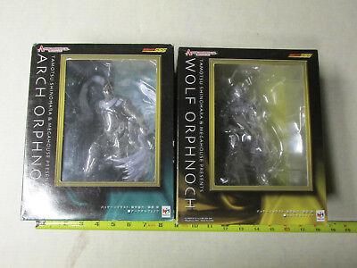 Megahouse Kamen Masked Rider Arch Orphnoch & Wolf Orphnoch Set Of 2 MIP (Anime Wolf Mask)