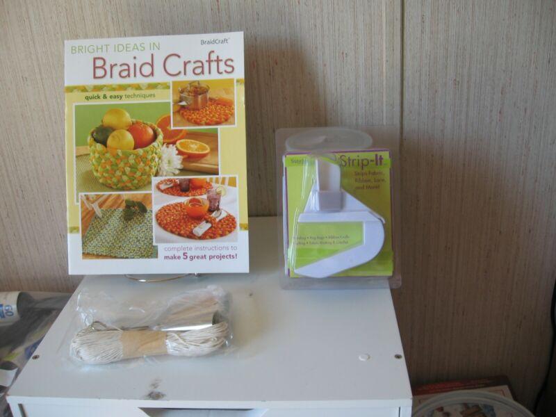 Braidcraft rug braiding Starter Kit: Includes Braiding Tools