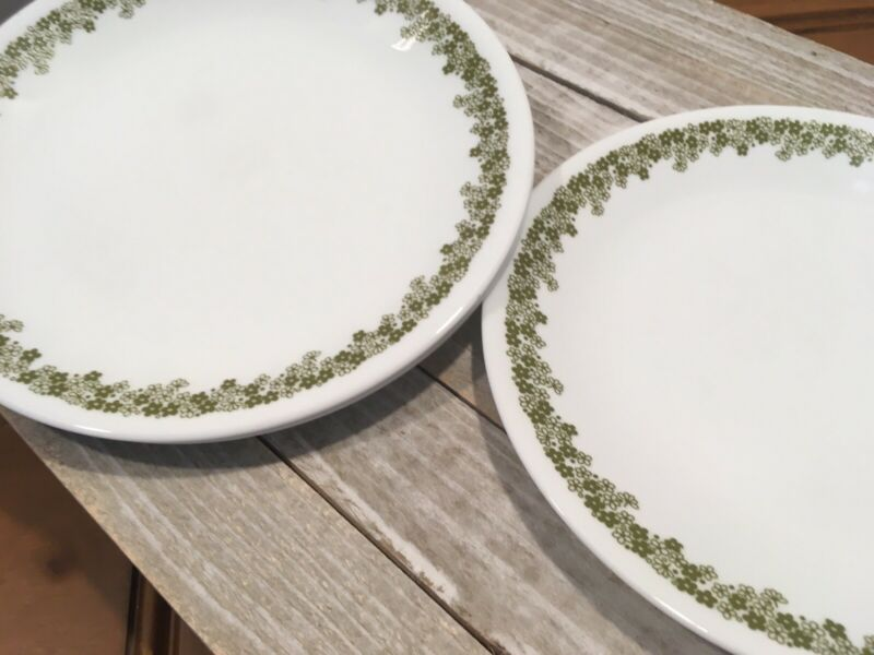"""CORELLE Crazy Daisy Spring Blossom 8.5"""" Lunch Plates SET OF 4"""
