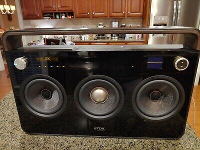TDK TP6803BLK 3 Speaker Boombox Life on Record