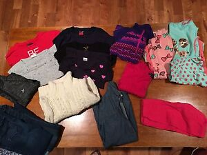 Girls lot of clothes size 6/7