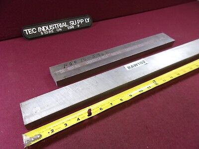 A6 A-6 Tool Steel 78 X 2 Oversized Assorted Length Flat Stock Lot Of 2 Raw102