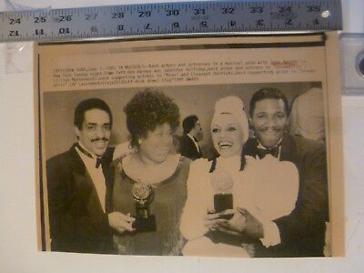 Vintage Wire Photo Tony Award Winner Best Musical Dream Girls