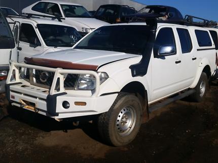 Nissan navara d40 diesel arb bullbar arb cage arb draws wrecking