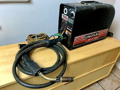 Lincoln Ln-25 Wire Feeder Welder Flux Core Mig Gun Suitcase Feed