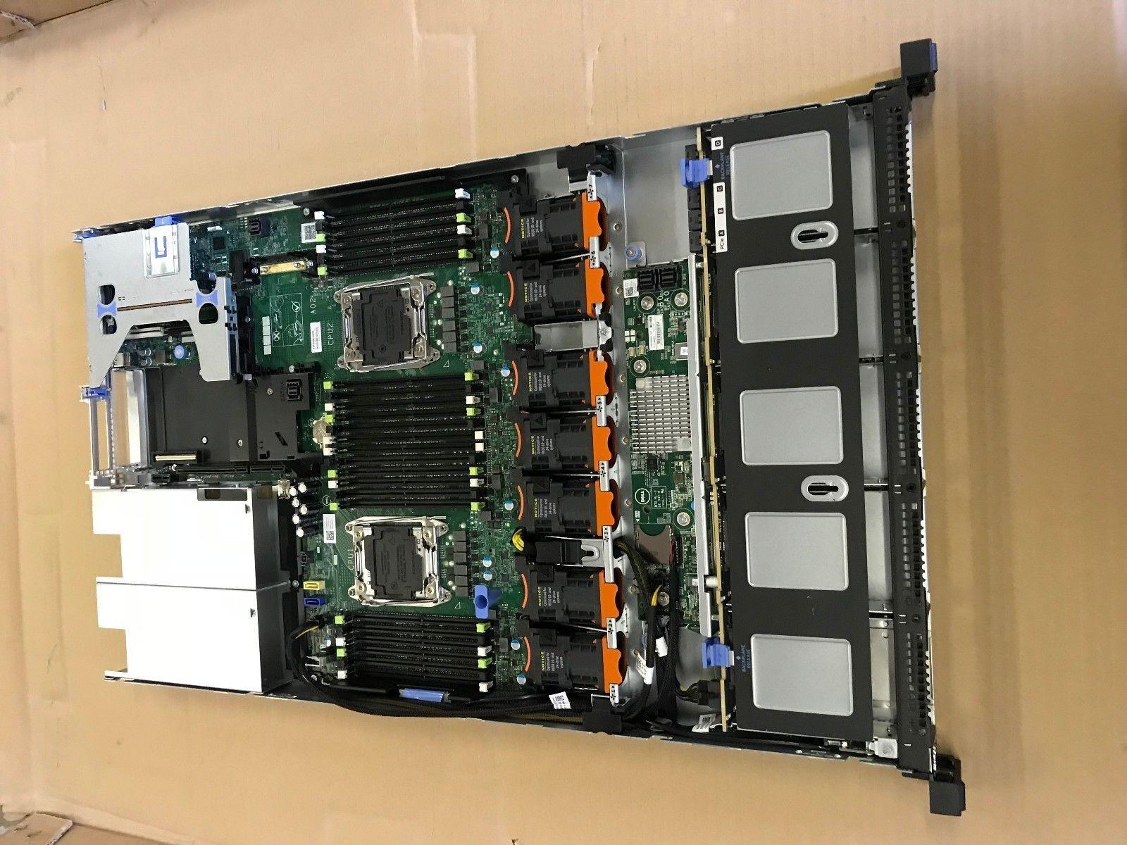 Dell PowerEdge R630 BareBone 10BAY 1U Rack Server Motherboard FAN chassis