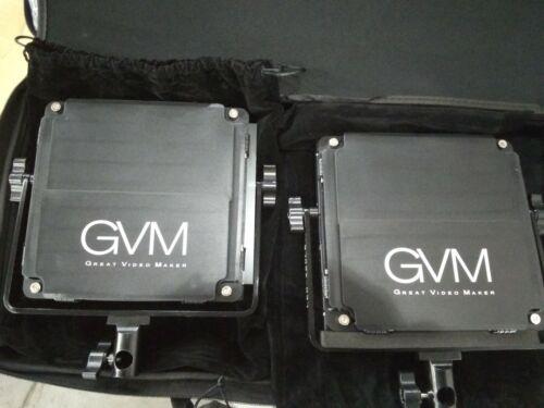 GVM LED Video Lighting Kits 480LS 2 Pack
